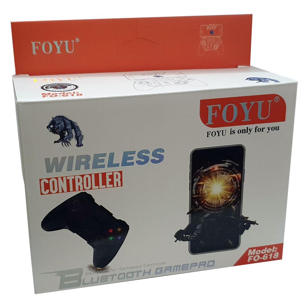 Controle Joystick Bluetooth FOYU FO-618 PARA CELULAR E Tv Box Android