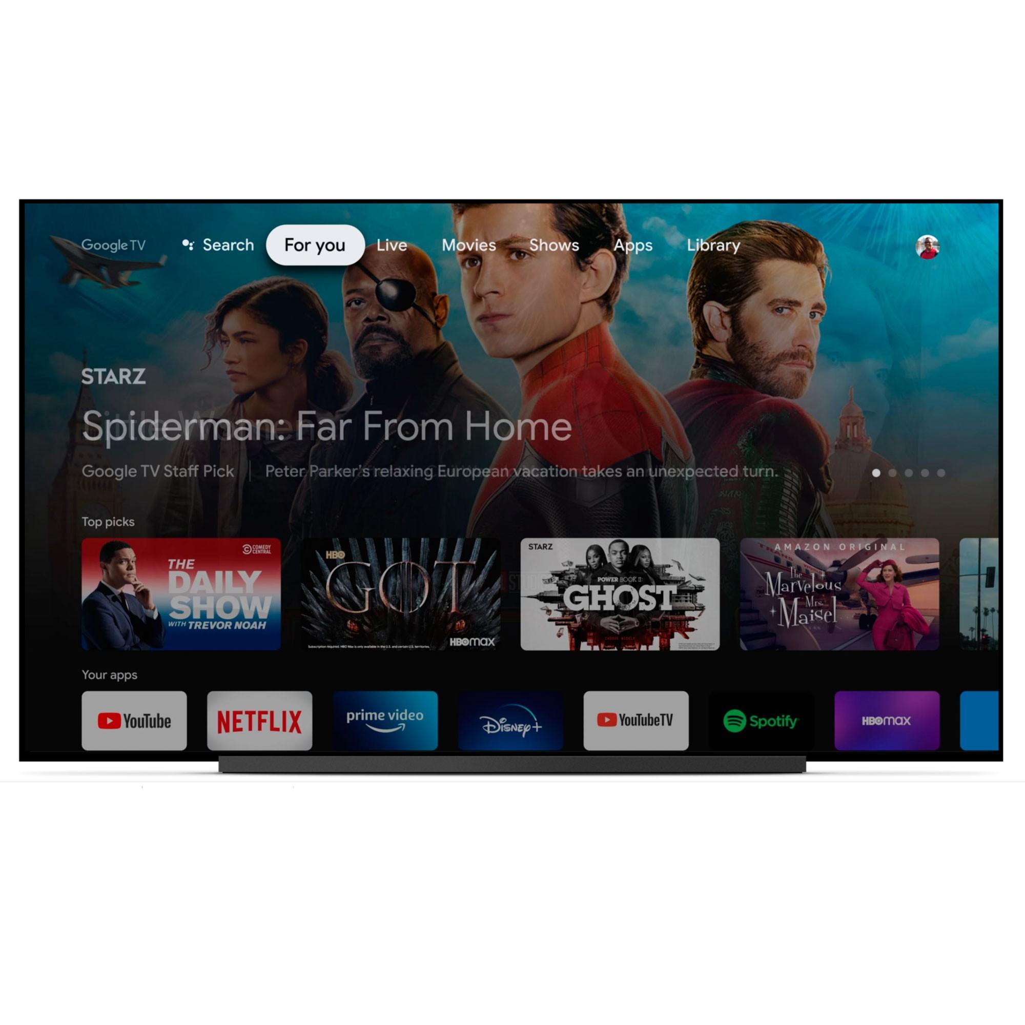 Google Chromecast 4k com Controle e Google TV