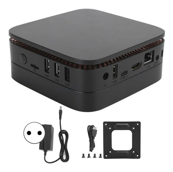 Mini PC ACEPC AK1 - Preto 4GB ram + 32GB Armazenamento + entrada para HD/ssd