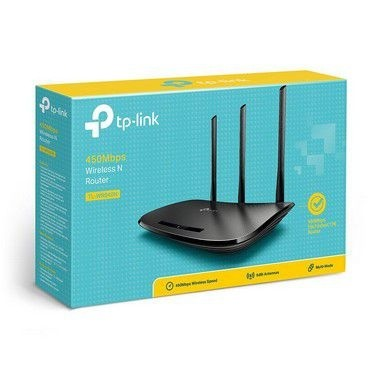 Roteador Wireless 450mbps Tp Link Tl-wr 940n Wifi 3 Antenas