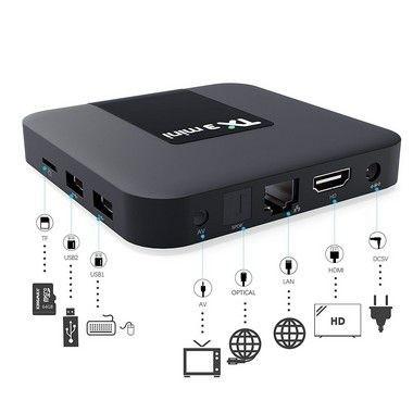 Tv Box Tx3 Mini Bluetooth 4k Quadcore 2gb/16gb Android 7.1.2 Interface Oranth