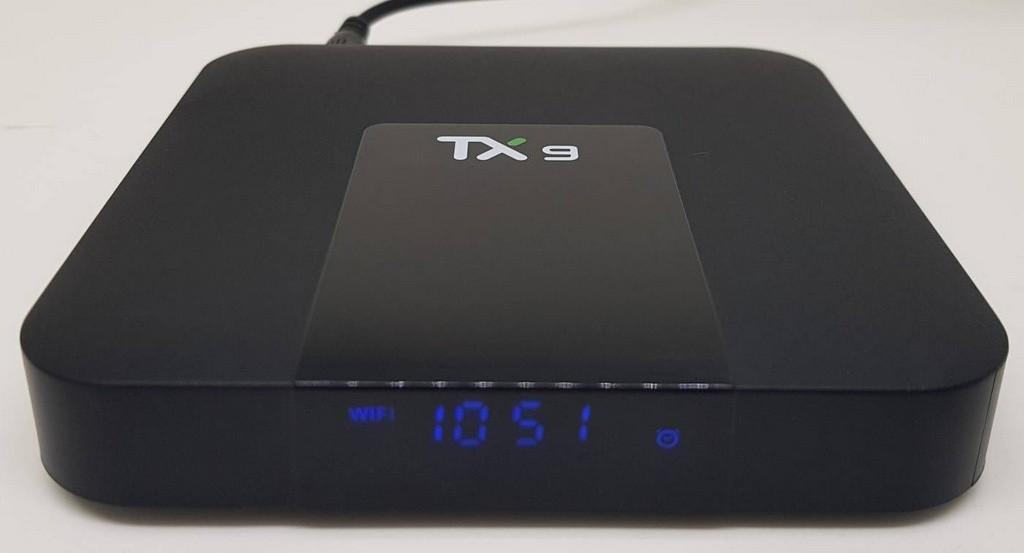 Tv Box TX9 com BLUETOOTH Android 9 ALICE UX e WIFI DUAL BAND