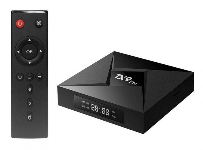 TV BOX TX9 Pro 4k Octacore 4gb/32gb Bluetooth Android 7.1