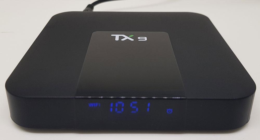 Tv Box TX9 YOUIT 4GB/16GB com BLUETOOTH, WIFI DUAL BAND E ALICE UX  + Teclado Led