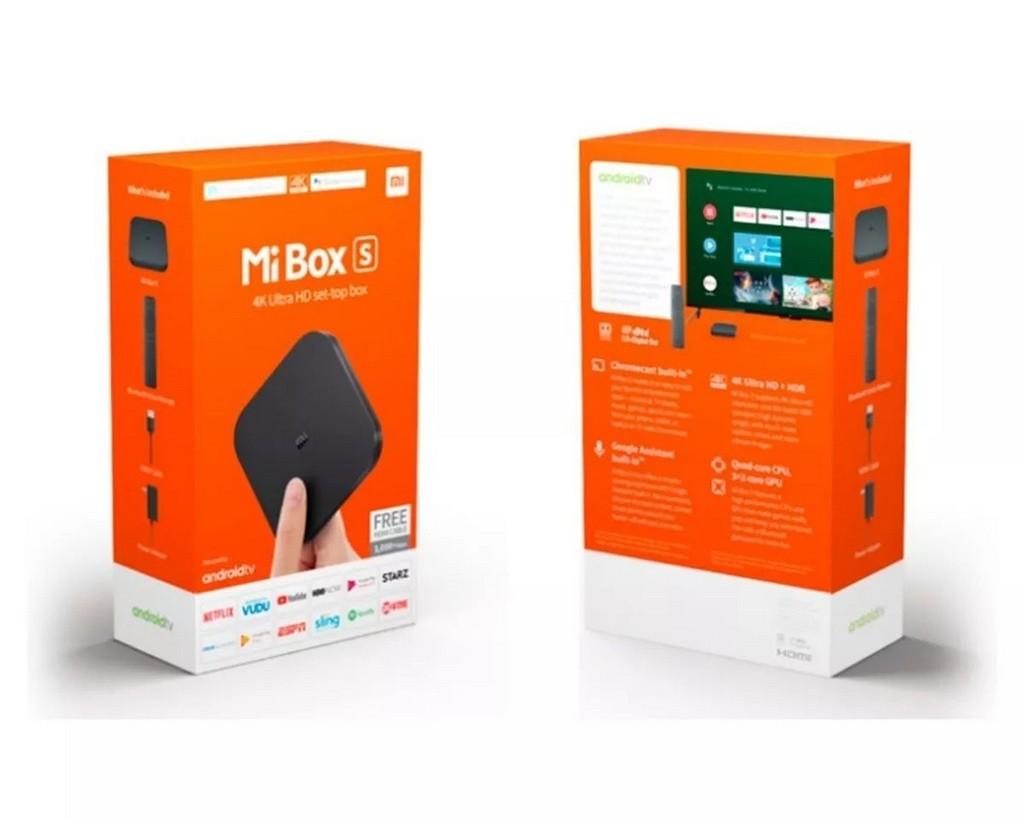 Xiaomi Mi Box S 4K Android TV 9.0 - CHROMECAST INTEGRADO