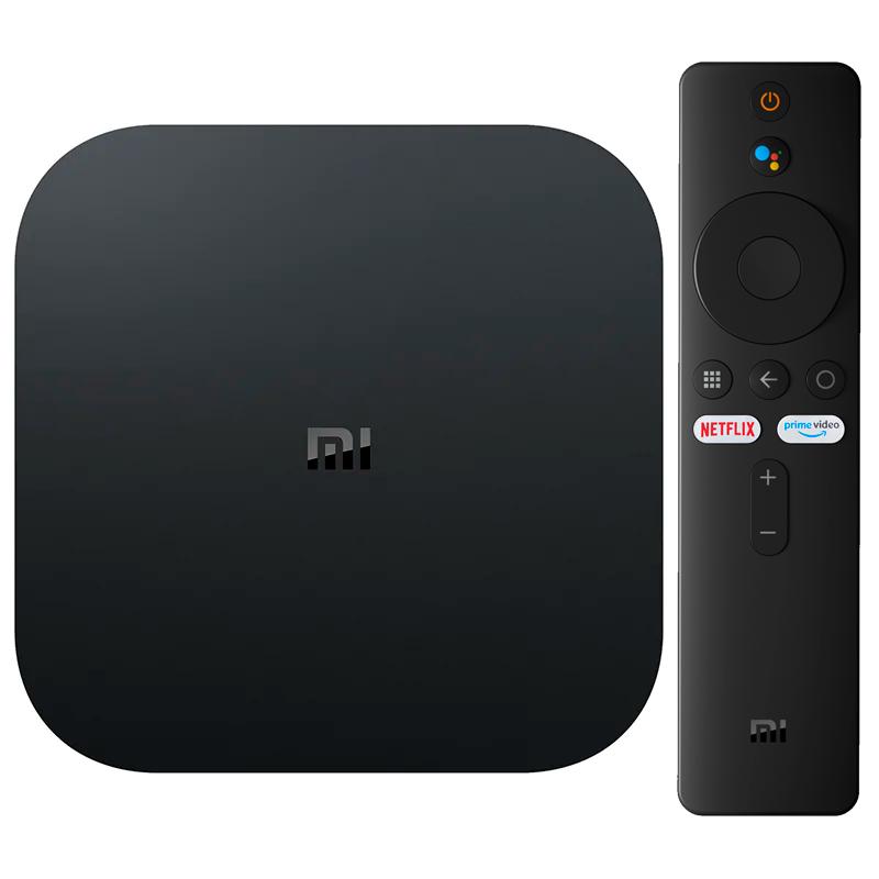 Xiaomi Mi Box S 4K Android TV 9.0 - CONTROLE NOVO - CONFIGURADA