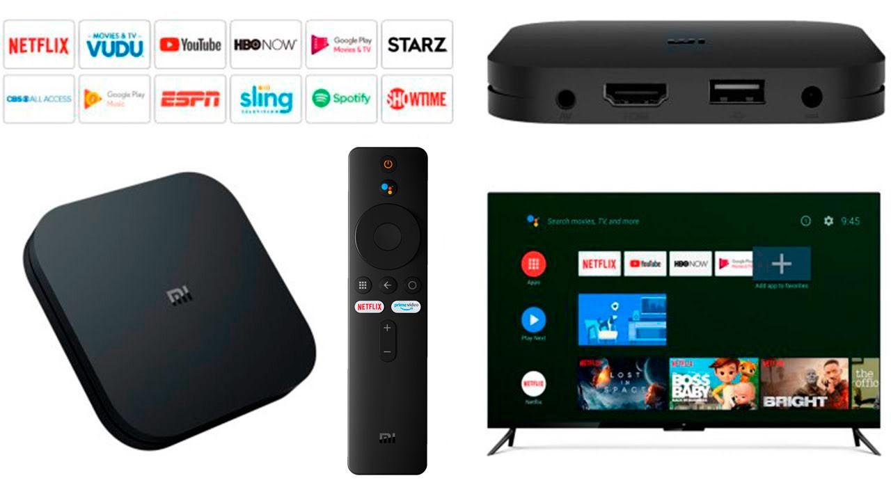 Xiaomi Mi Box S 4K Android TV 9.0 - CONTROLE NOVO 2020