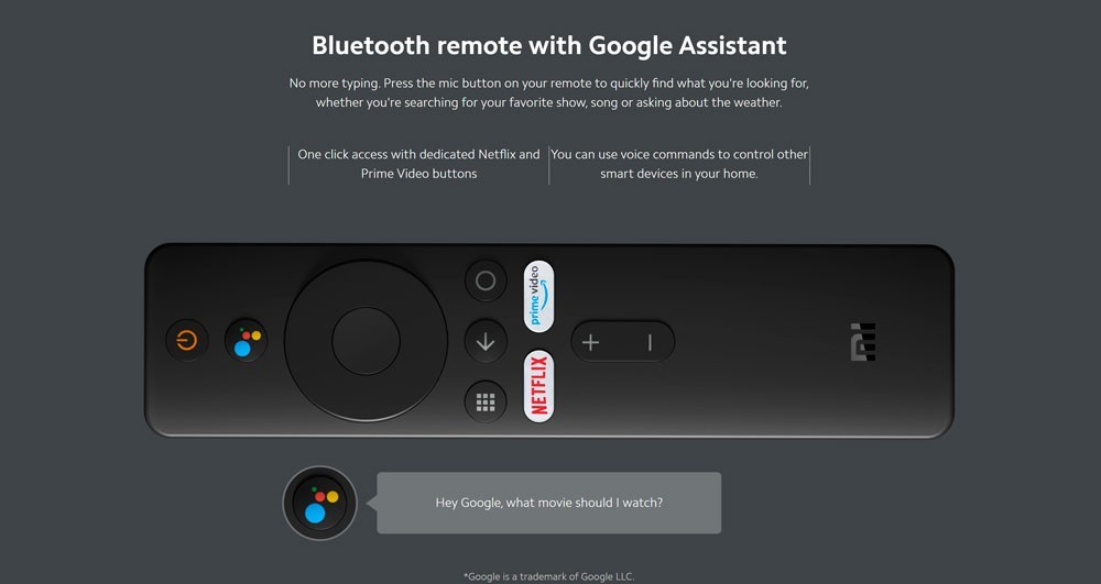 Xiaomi Mi TV Stick Android TV 9.0 com Google Cast