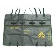 Protetor caçamba Para Caminhonete Transbike Medio 4 Bikes M