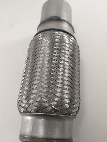 Tubo Flexivel Inox Universal 2 Polegadas Escapamento 51mm