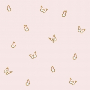 Papel de Parede Animais Borboletas Rosa