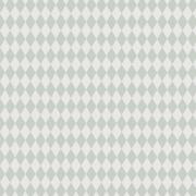 Papel de Parede Geométrico Losango Cinza