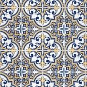 Papel de Parede Azulejo Português Vintage