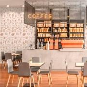 Papel de Parede Clássico Café Expresso