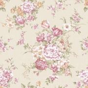 Papel de Parede Floral Buque de Rosas