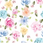 Papel de Parede Floral Collors