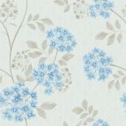 Papel de Parede Floral Dente de Leão Azul