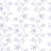 Papel de Parede Floral Folha Lilás
