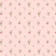 Papel de Parede Floral Mini Rosas Delicadas