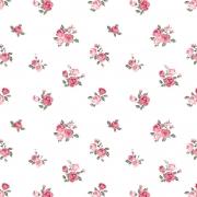 Papel de Parede Floral Pequenas Rosas