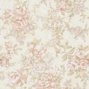 Papel de Parede Floral Rosas em Tons Neutros