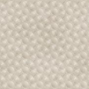Papel de Parede Geométrico Circulo Sobreposto Cinza