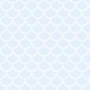 Papel de Parede Geométrico Escamas Azul Bebê