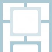 Papel de Parede Geométrico Labirinto Azul