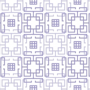 Papel de Parede Geométrico Labirinto Lilás