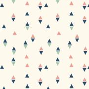 Papel de Parede Geométrico Mini Triângulos