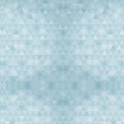 Papel de Parede Geométrico Mini Triângulos Tons de Azul