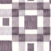 Papel de Parede Geométrico Quadrado Riscos Cinza