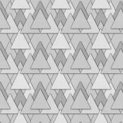Papel de Parede Geométrico Triângulos Cinza
