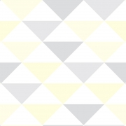 Papel de Parede Geométrico Triângulos Cores Claras