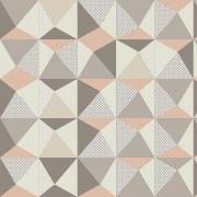 Papel de Parede Geométrico Triângulos Textura Cinza