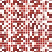 Papel de Parede Pastilha Vermelha