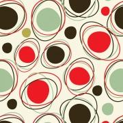 Papel Parede Geométrico Círculo Colorido
