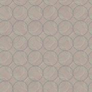 Papel de Parede Geométrico Circulo Sobreposto