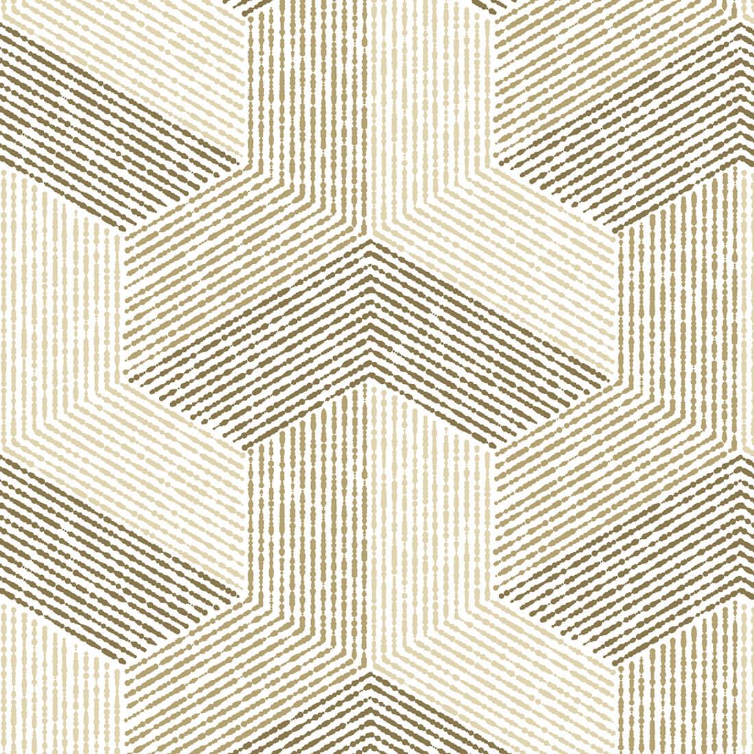 Papel de Parede Abstrato Estampado Tons de Marrom