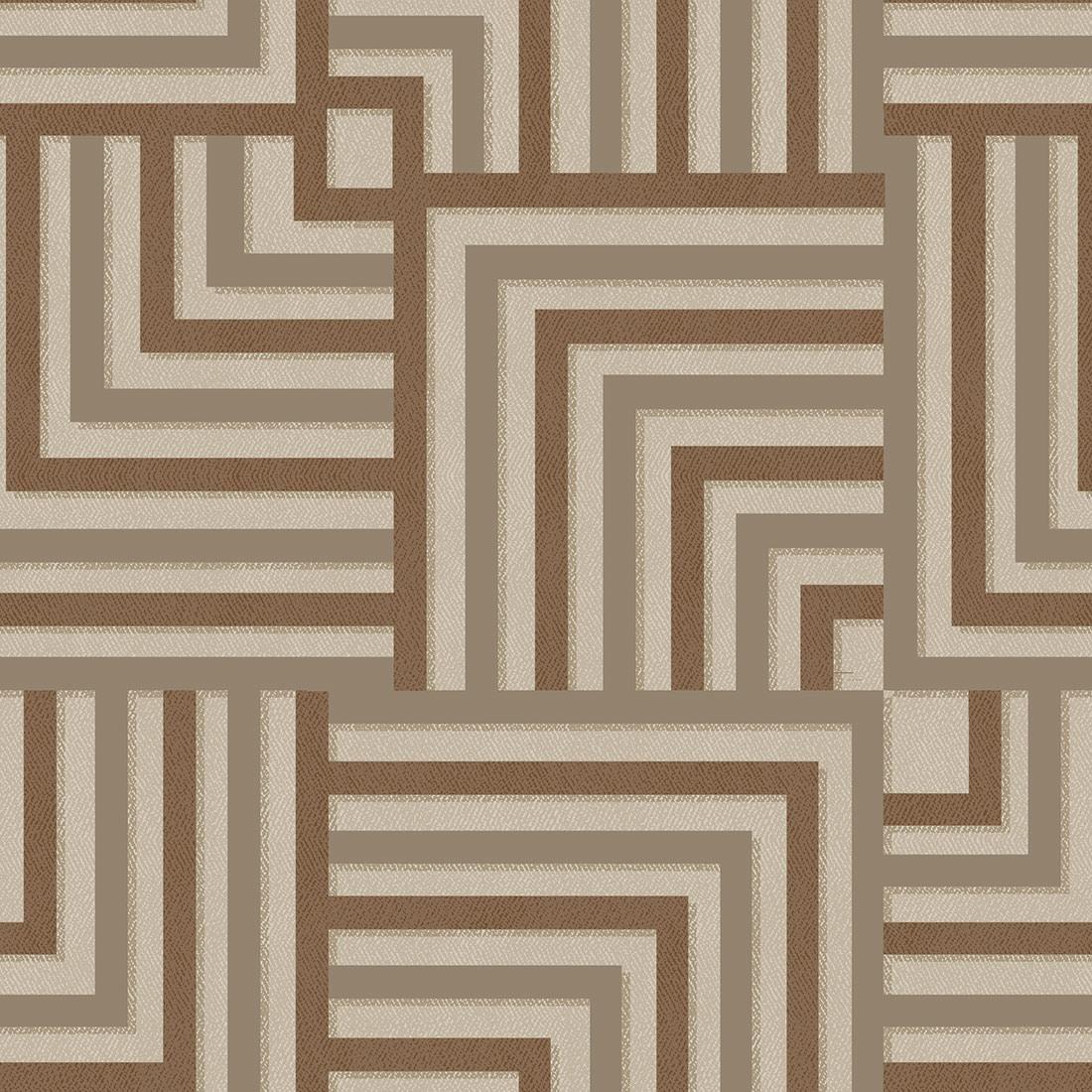 Papel de Parede Abstrato Linhas Tons de Marrom
