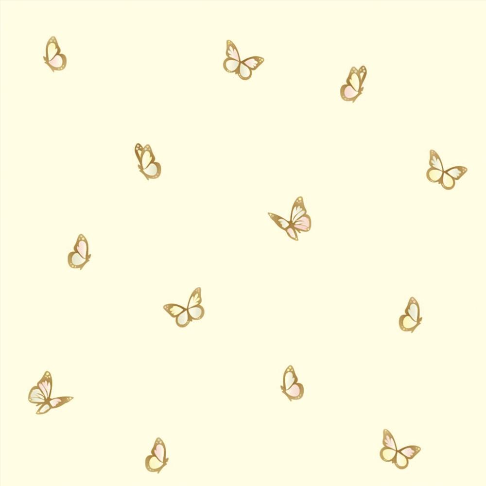 Papel de Parede Animais Borboletas Delicadas