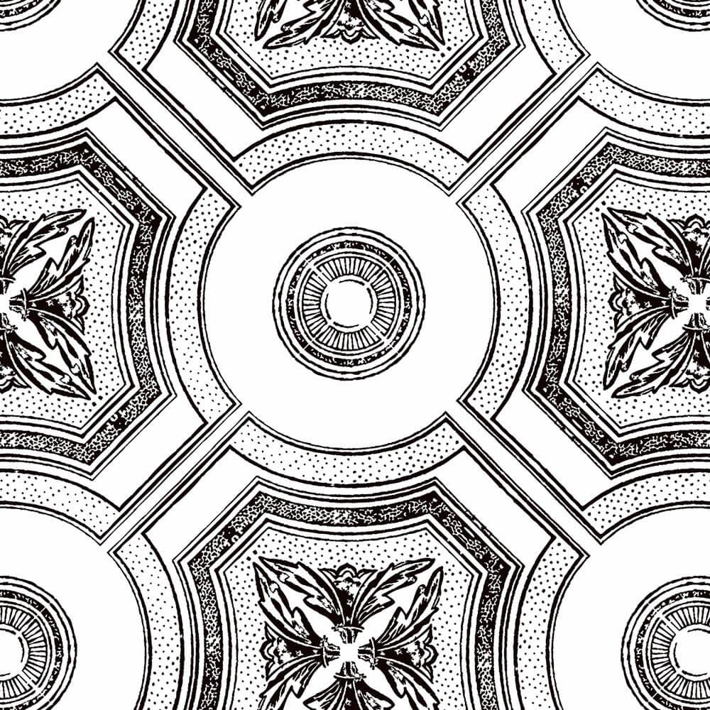 Papel de Parede Azulejo Estilo Textura chinesa