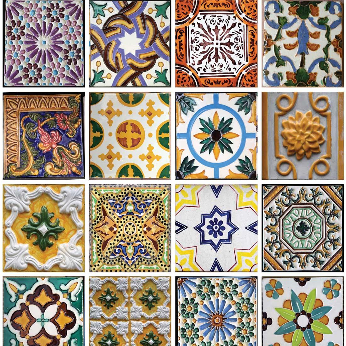 Papel de Parede Azulejos Antigos Portugueses