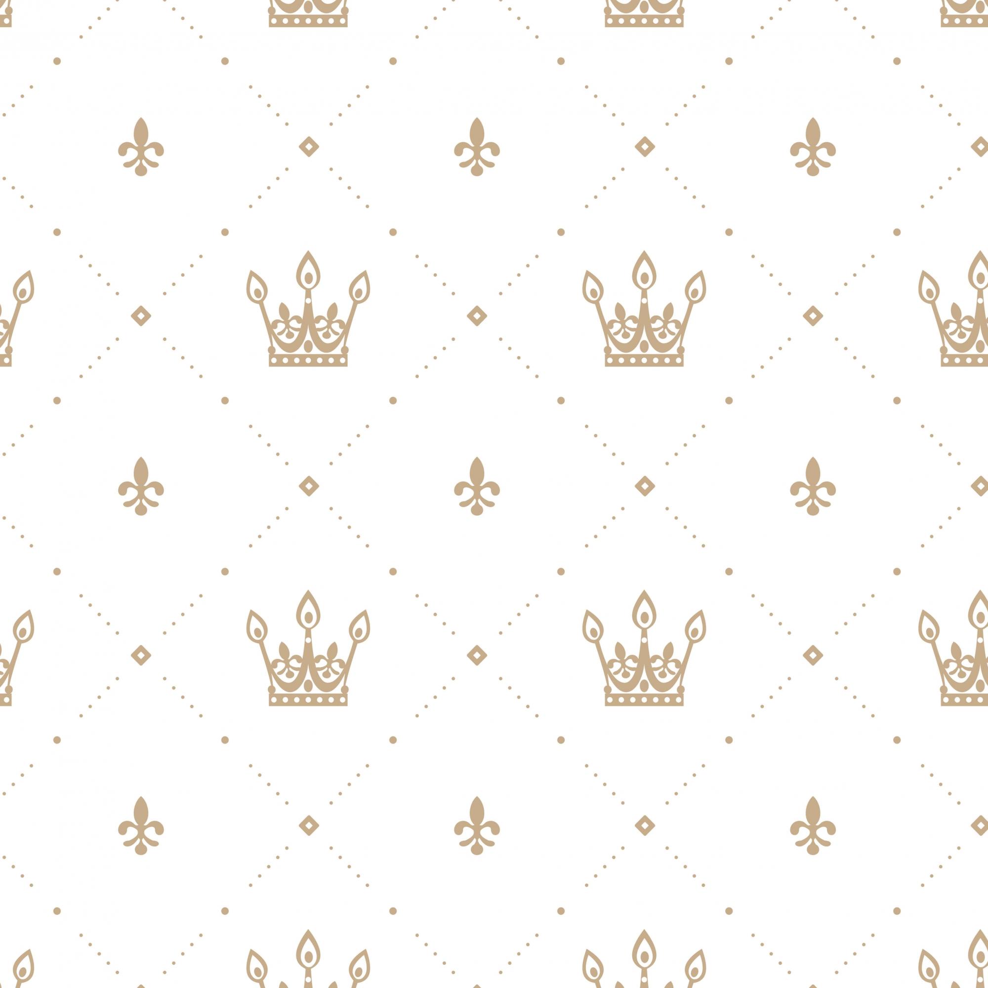 Papel de Parede Baby Coroa Imperial