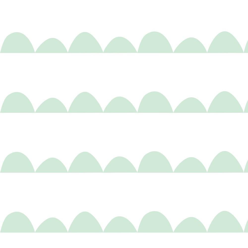Papel de Parede Baby Montanhas Verdes Pequena