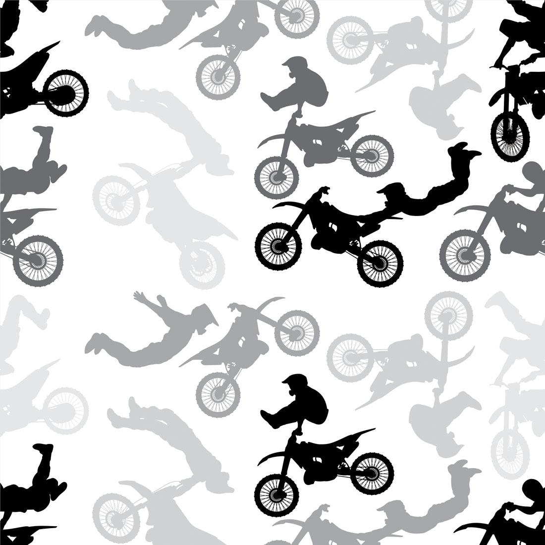 Papel de Parede Baby Motocross