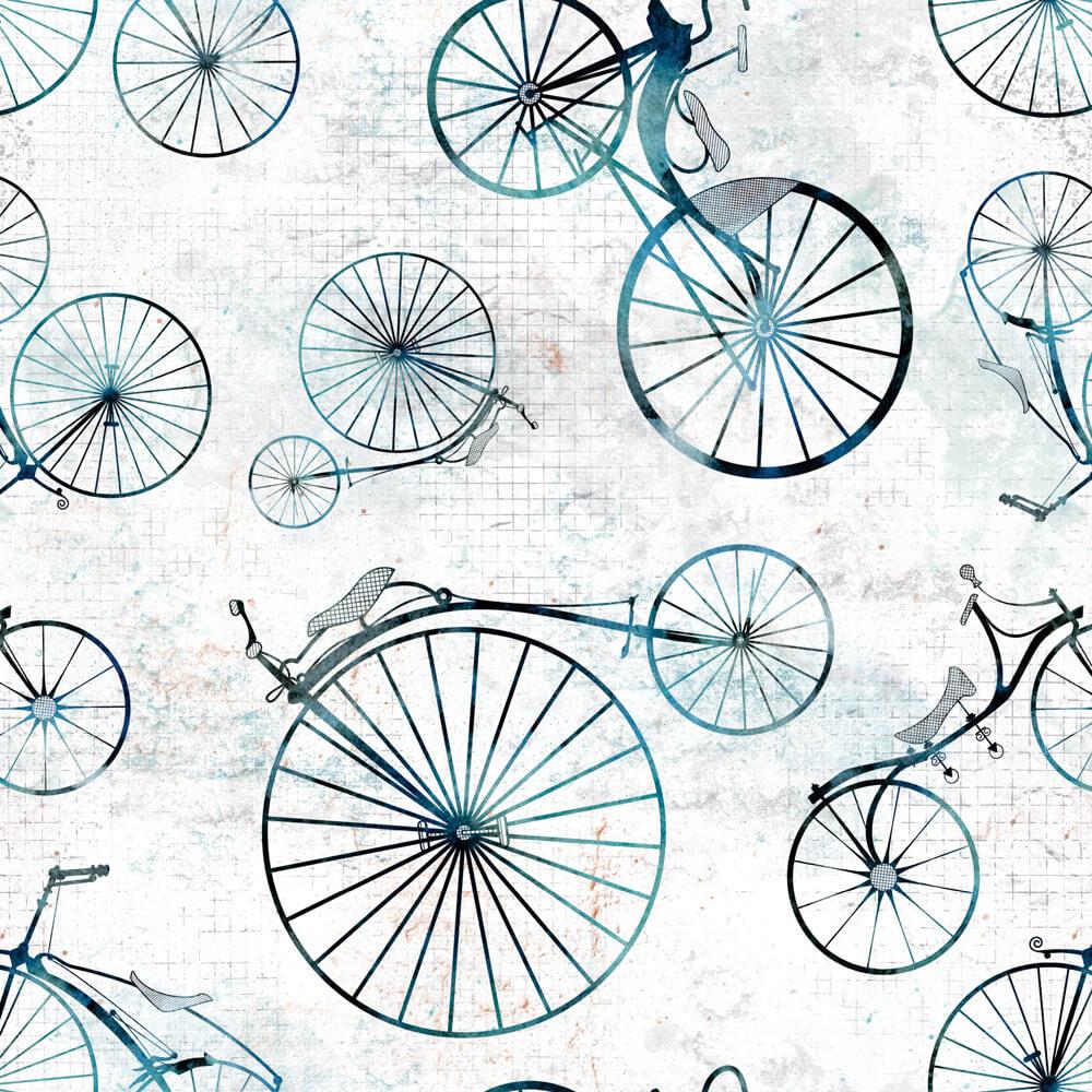 Papel de Parede Casual Bicicleta Antiga