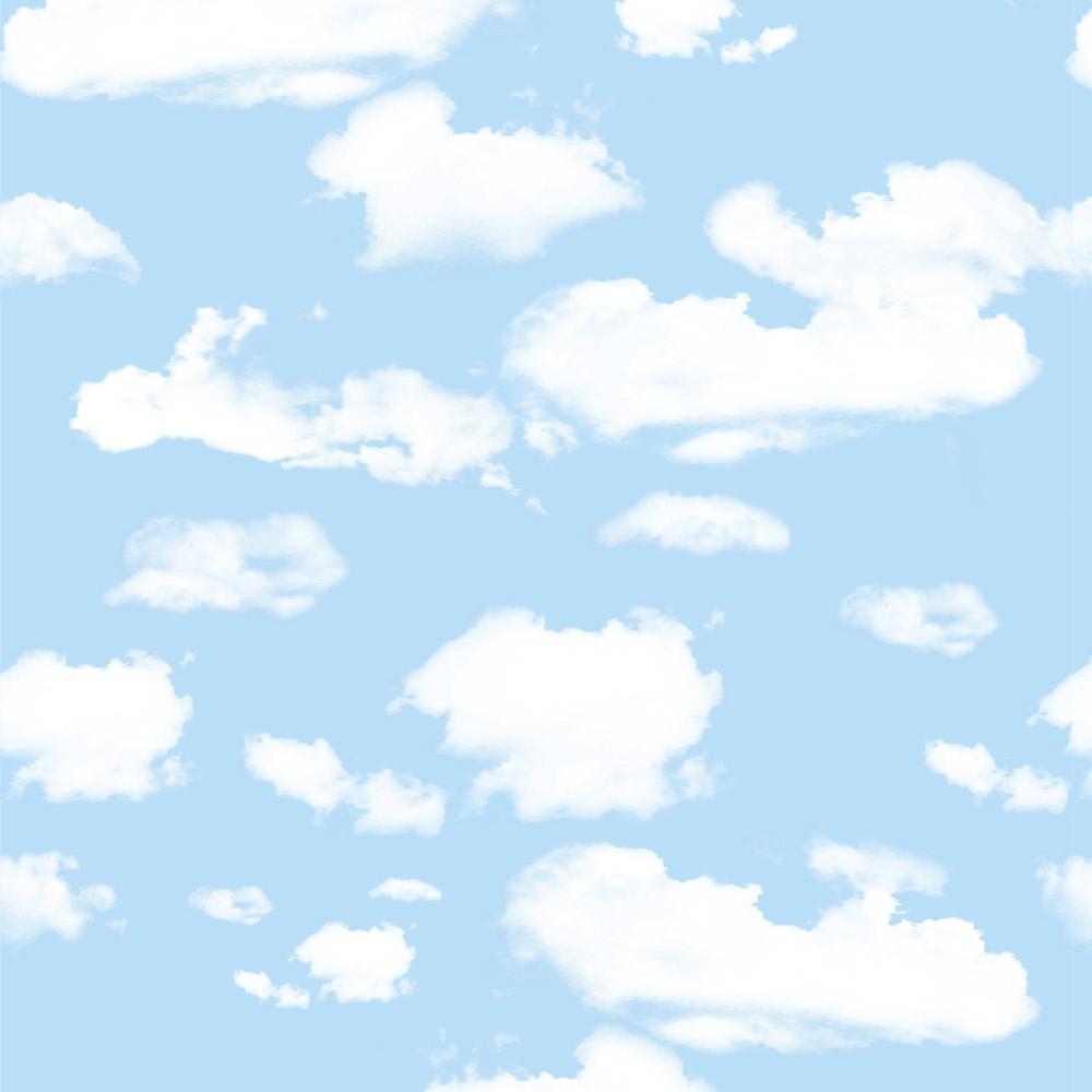 Papel de Parede Casual Céu Azul