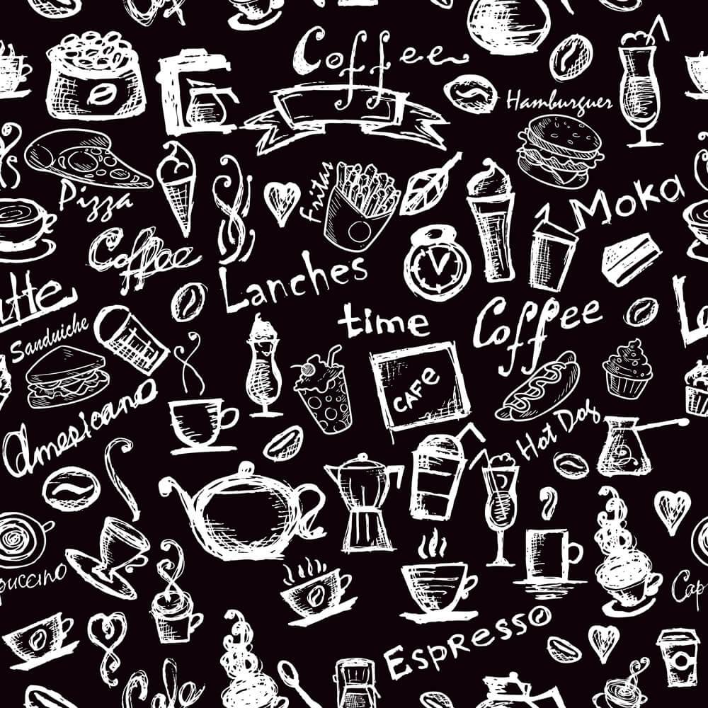 Papel de Parede Casual  Coffee Americano