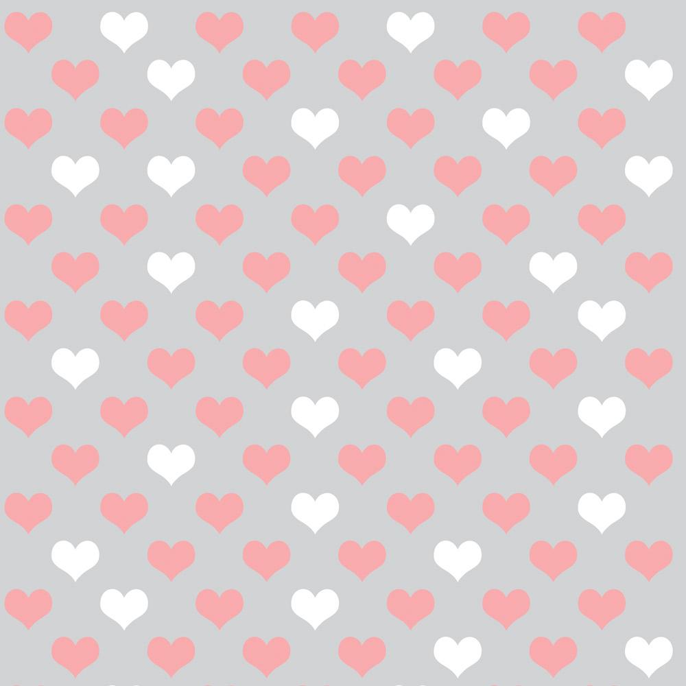Papel de Parede Casual Coração Love